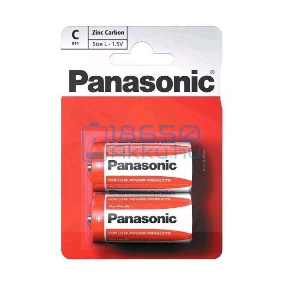 Panasonic Cink-Szén Féltartós (C / R14) Baby Elem (2db)