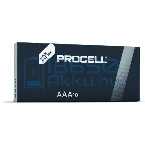 Duracell Procell Alkáli Tartós (AAA / LR03 / MN2400) Mikro Elem (10db)