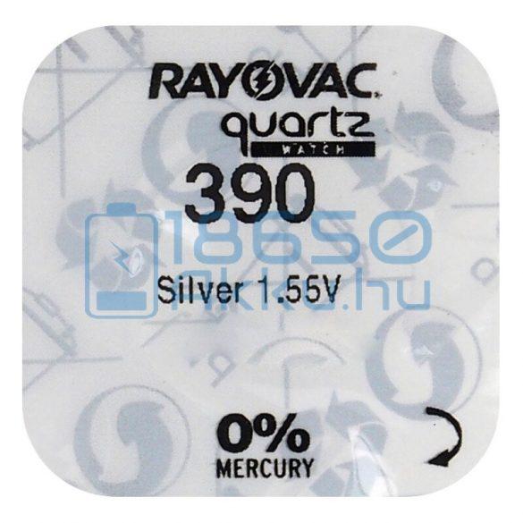 Rayovac 390 Ezüst-Oxid Gombelem