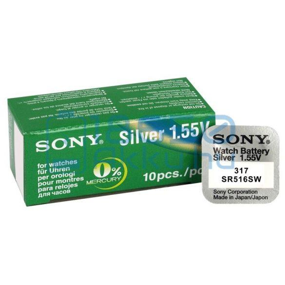 Sony 317 / SR516SW Ezüst-Oxid Gombelem