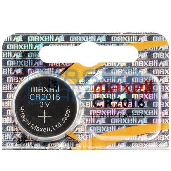 Maxell CR2016 Lítium Gombelem (Hologram)