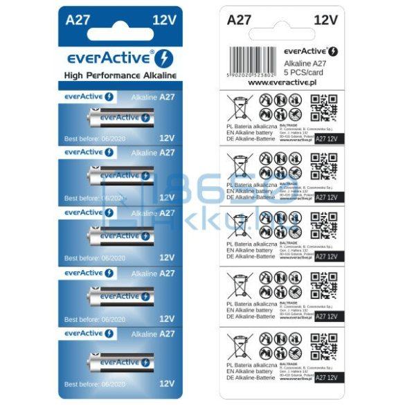 EverActive 27A 12V Alkáli Elem