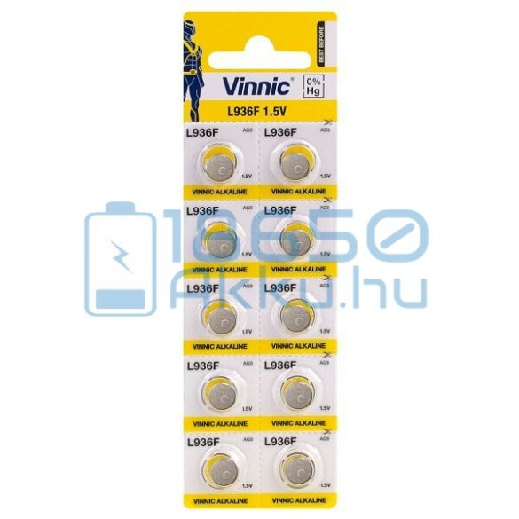 Vinnic AG9 / L936F Alkáli Gombelem