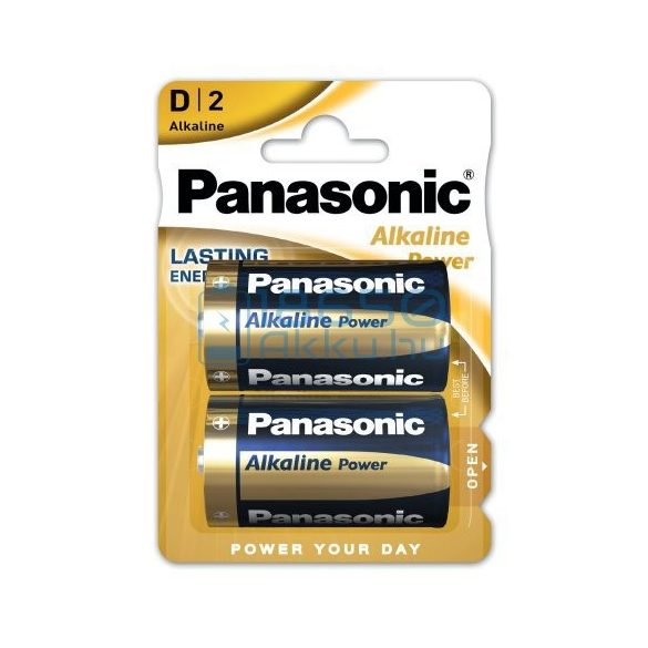 Panasonic Alkaline Power Alkáli Tartós (D / LR20) Góliát Elem (2db)
