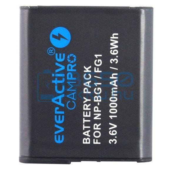 EverActive CamPro (Sony NP-BG1 / Sony NP-FG1) Fényképezőgép Akkumulátor (EVB005)