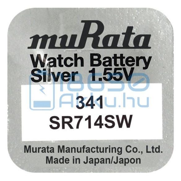 Murata 341 / SR714SW Ezüst-Oxid Gombelem