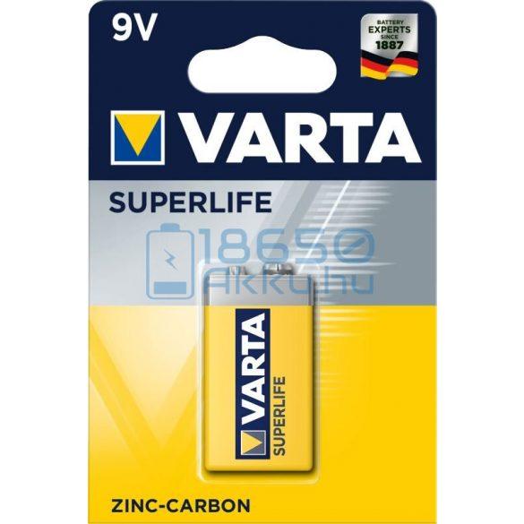 Varta Superlife 6F22 9V Féltartós Cink-Szén Elem