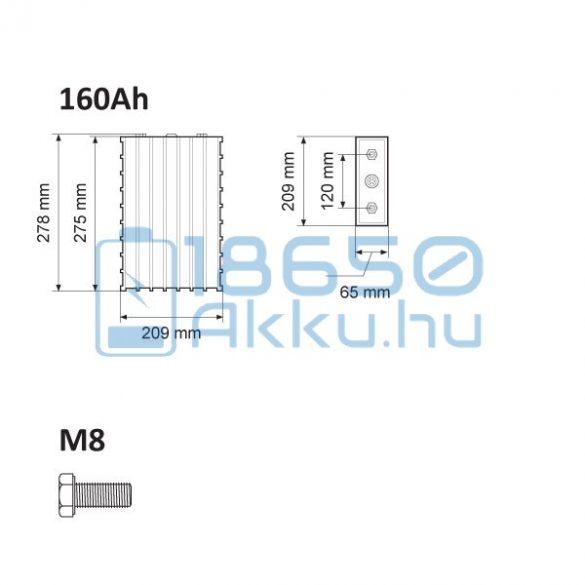 Winston (WB-LYP160AHA) 160Ah LiFePO4 Akkumulátor (WIDE)