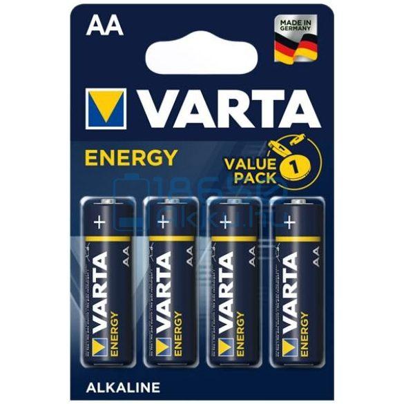 Varta Energy Alkáli Tartós (AA / LR6) Ceruza Elem (4db)