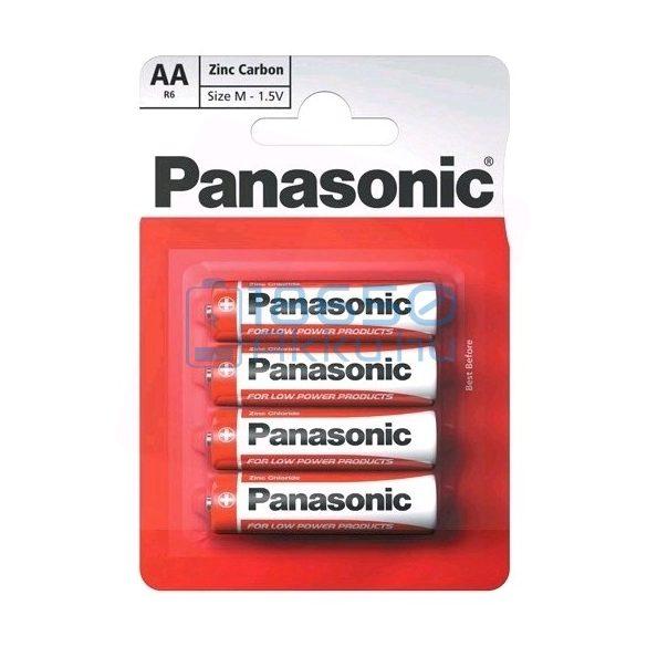 Panasonic Cink-Szén Féltartós (AA / R6) Ceruza Elem (4db)
