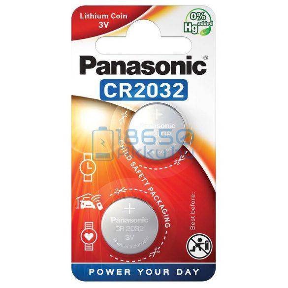 Panasonic CR2032 Lítium Gombelem (2db)