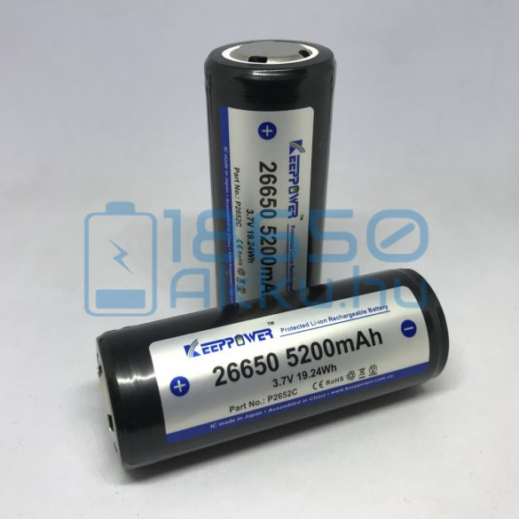 KeepPower 26650 5200mAh 12A