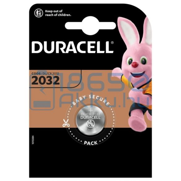 Duracell CR2032 Lítium Gombelem (1db)