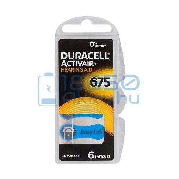 Duracell ActivAir 675 Hallókészülék Elem