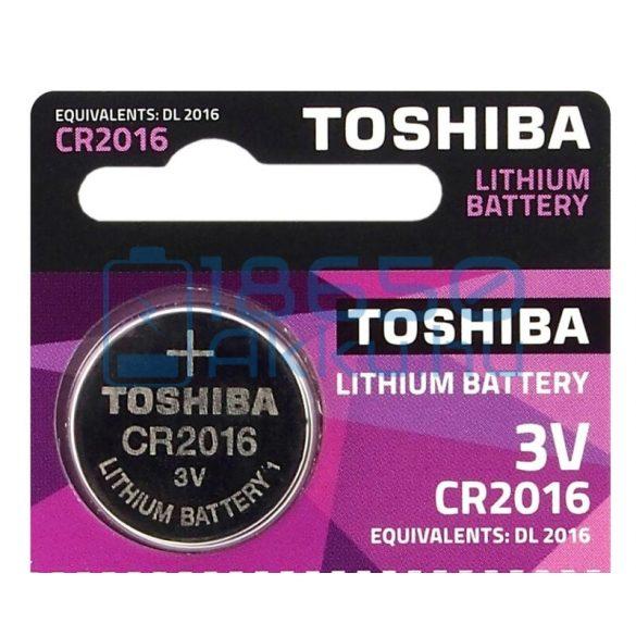Toshiba CR2016 Lítium Gombelem