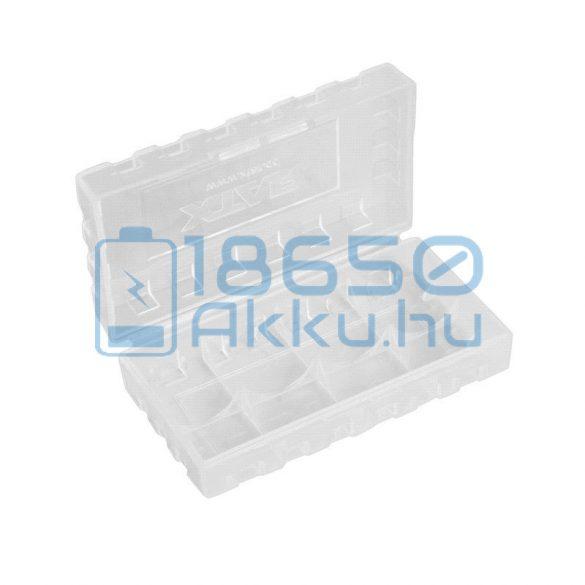 XTAR 2 db x 18650/18700 akku/akkumulátor tartó/tároló tok/doboz