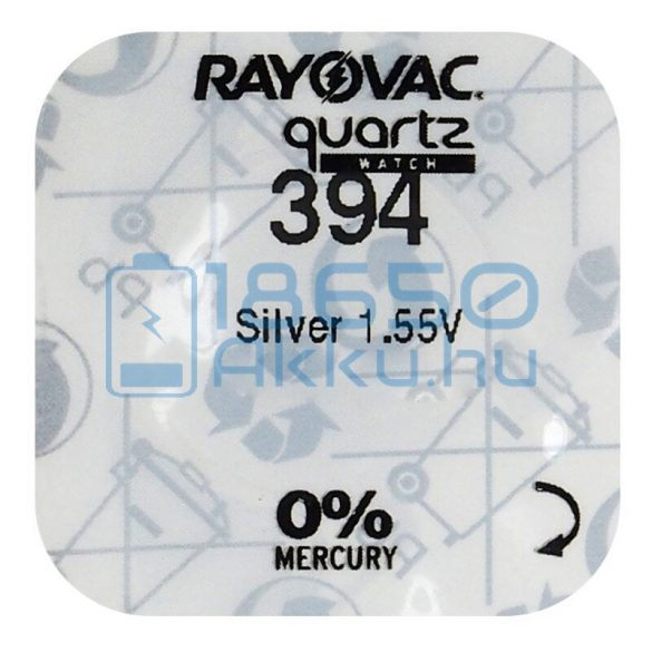 Rayovac 394 Ezüst-Oxid Gombelem