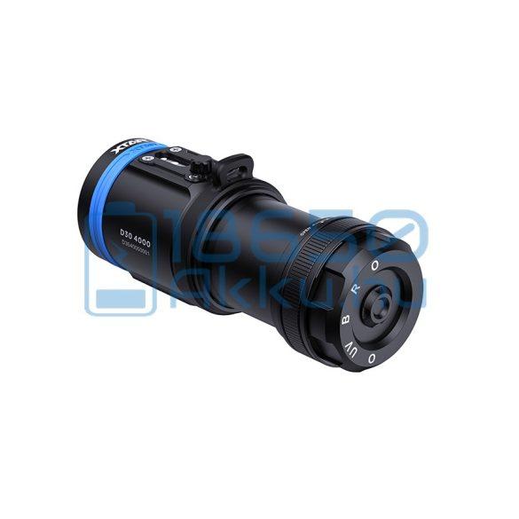 XTAR D30 4000 Búvárlámpa