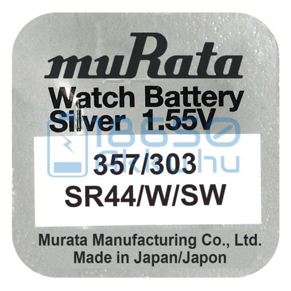 Murata 303/357 / SR44W/SW Ezüst-Oxid Gombelem