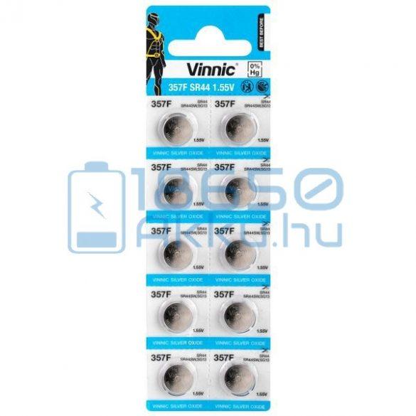 Vinnic 357 / SR44 Ezüst-Oxid Gombelem