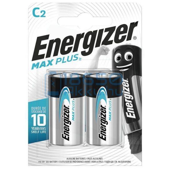 Energizer Max Plus Alkáli Tartós (C / LR14) Baby Elem (2db)