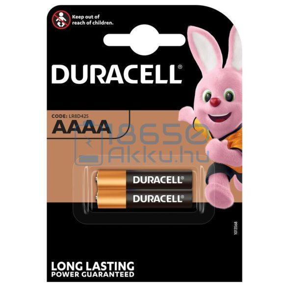 Duracell 25A / AAAA / LR61 Alkáli Elem (2db)