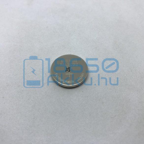 Maxell ML2032 Újratölthető Gombelem Akkumulátor