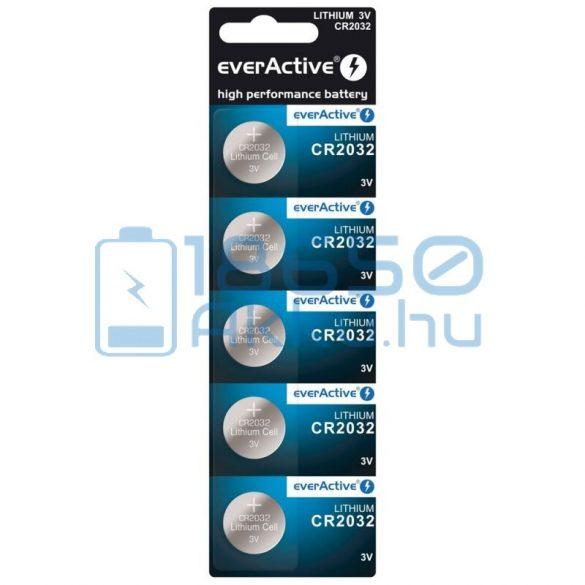 EverActive CR2032 Lítium Gombelem (5db)