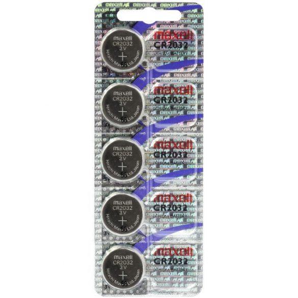 Maxell CR2032 Lítium Gombelem (Hologram)