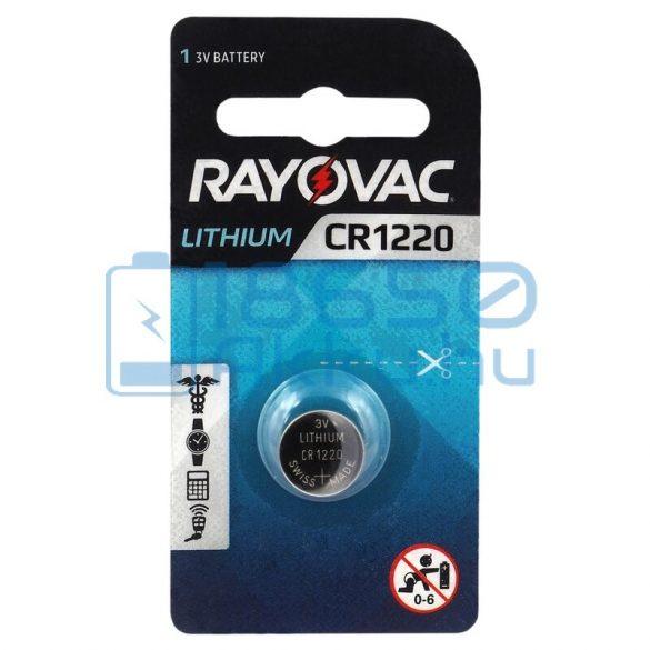 Rayovac CR1220 Lítium Gombelem