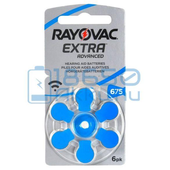 Rayovac Extra Advanced 675 Hallókészülék Elem