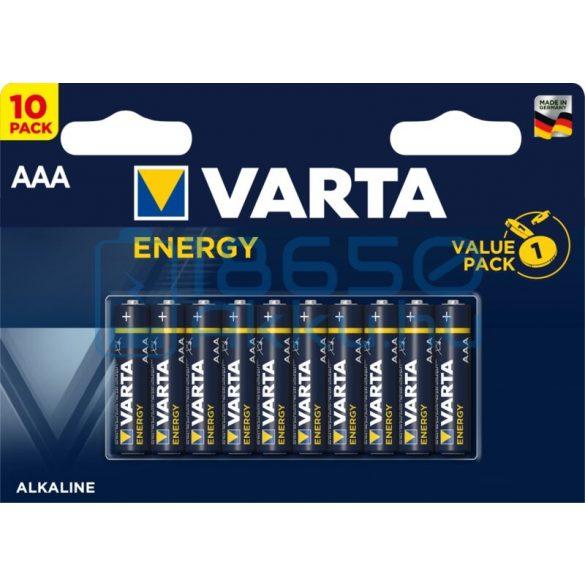 Varta Energy Alkáli Tartós (AAA / LR03) Mikro Elem (10db)