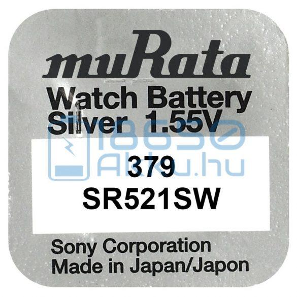 Murata 379 / SR521SW Ezüst-Oxid Gombelem