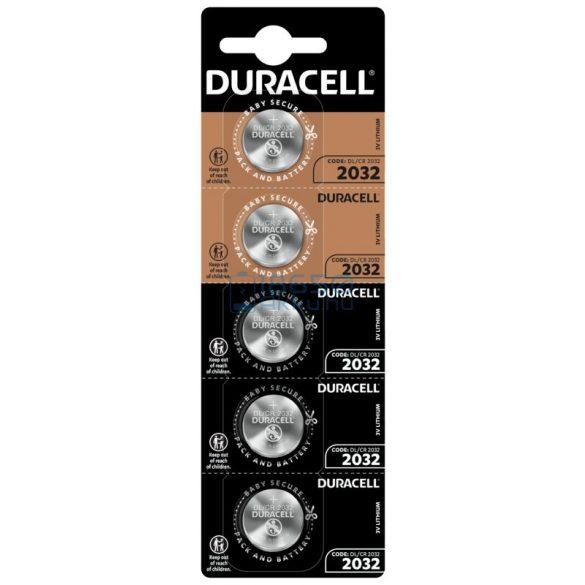 Duracell CR2032 Lítium Gombelem