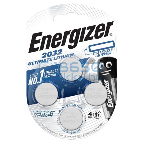 Energizer CR2032 Ultimate Lítium Gombelem (4db)