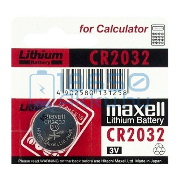 Maxell CR2032 Lítium Gombelem