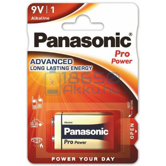 Panasonic Pro Power 6LR61 9V Alkáli Elem