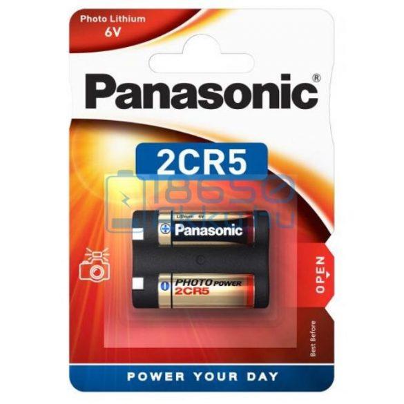 Panasonic 2CR5 6V Lítium Elem