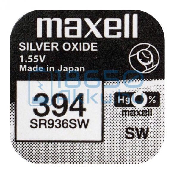 Maxell 394 / SR936SW Ezüst-Oxid Gombelem