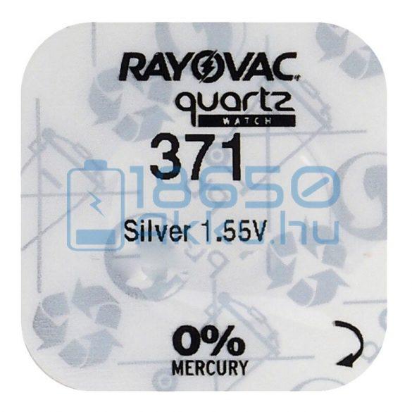 Rayovac 371 Ezüst-Oxid Gombelem