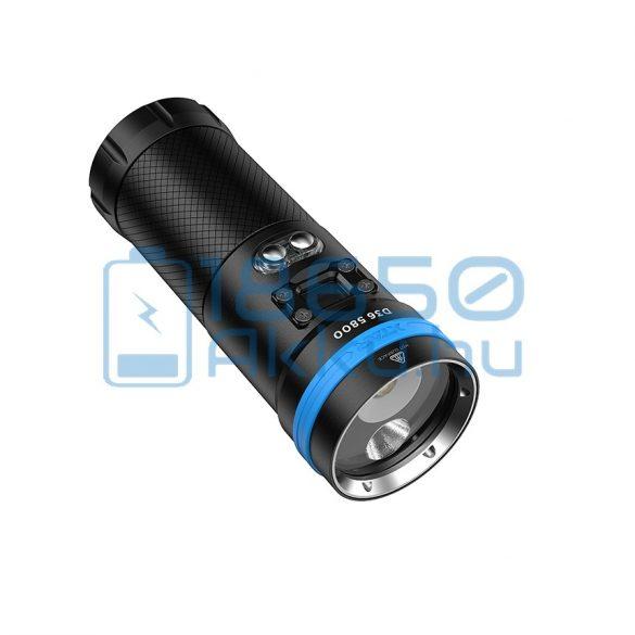 XTAR D36 5800 Búvárlámpa Szett