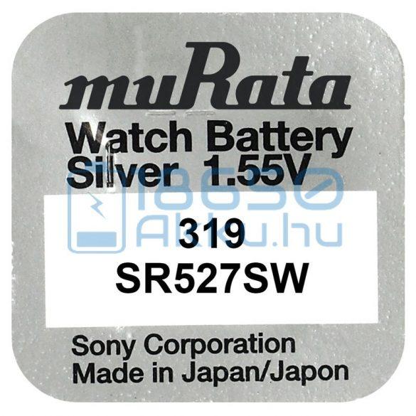 Murata 319 / SR527SW Ezüst-Oxid Gombelem