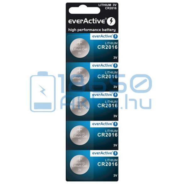 EverActive CR2016 Lítium Gombelem (5db)