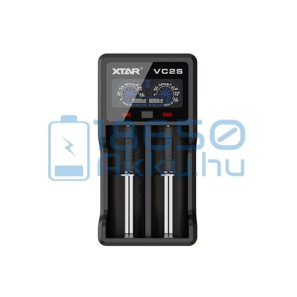 XTAR VC2S Akkumulátor Töltő 7 490 Ft db 18650 Akku.hu