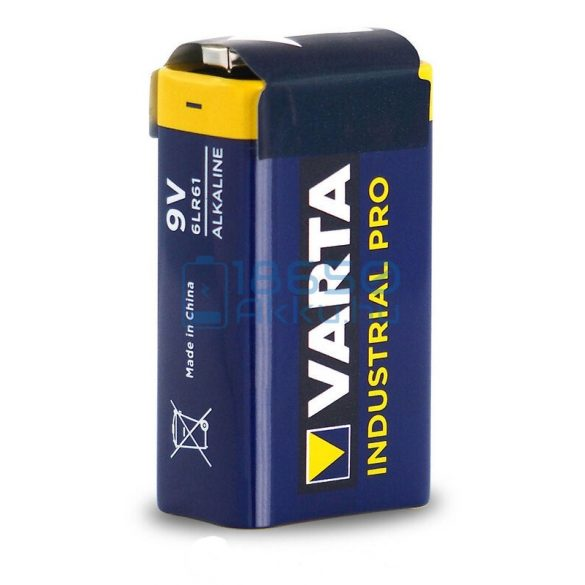Varta Industrial Pro 6LR61 9V Alkáli Elem