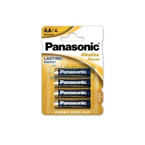 Panasonic Alkaline Power Alkáli Tartós (AA / LR6) Ceruza Elem (4db)
