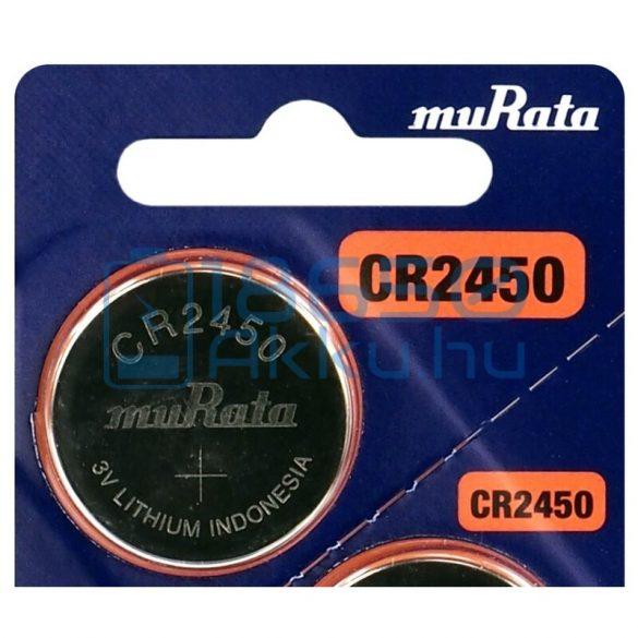Murata CR2450 Lítium Gombelem