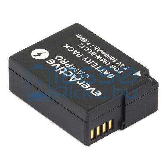 EverActive CamPro (Panasonic DMW-BLC12) Fényképezőgép Akkumulátor (EVB007)