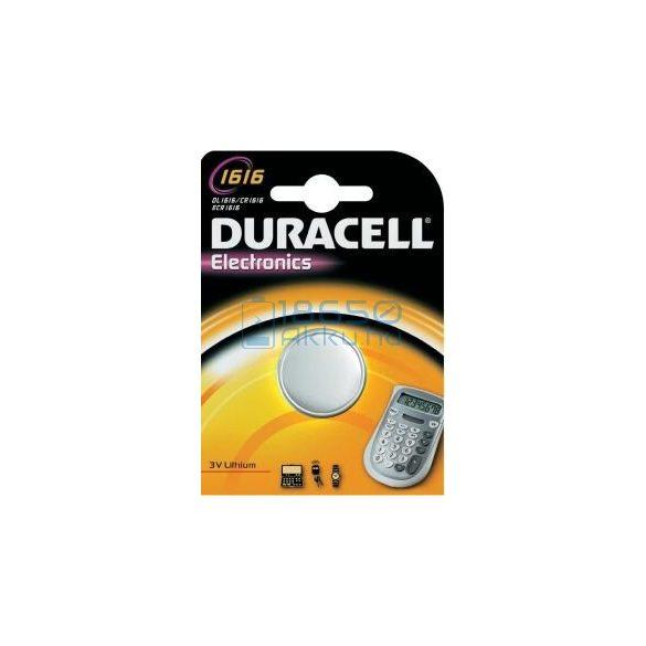 Duracell CR1616 Lítium Gombelem
