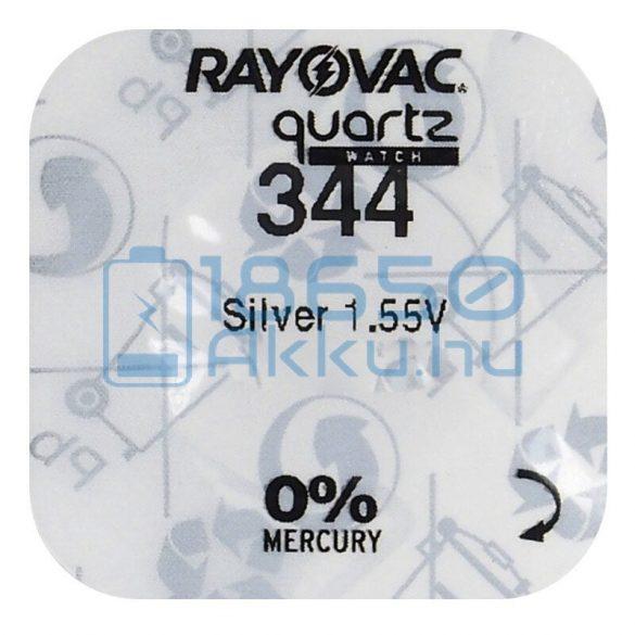 Rayovac 344 Ezüst-Oxid Gombelem